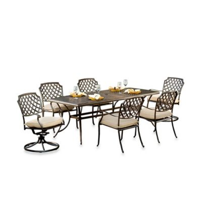 Agio™ Heritage 7-Piece Outdoor Dining Set