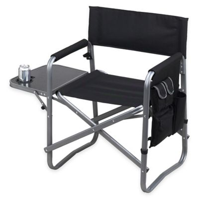Picnic at Ascot Aluminum Folding Sports Chair with Side Table