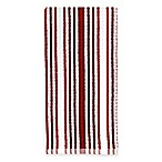Kitchensmart® Cotton Stripe Kitchen Towel in Red Multi