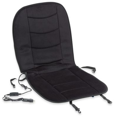Luxury Heated Car Seat Cushion in Black