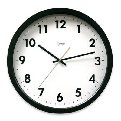Black Analog Clock
