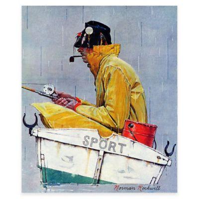 Norman Rockwell Sport 30-Inch x 36-Inch Canvas Wall Art