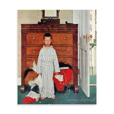 Norman Rockwell Discovery 30-Inch x 39-Inch Canvas Wall Art