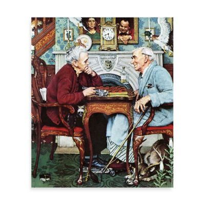Norman Rockwell April Fool, 1943 30-Inch x 36-Inch Canvas Wall Art