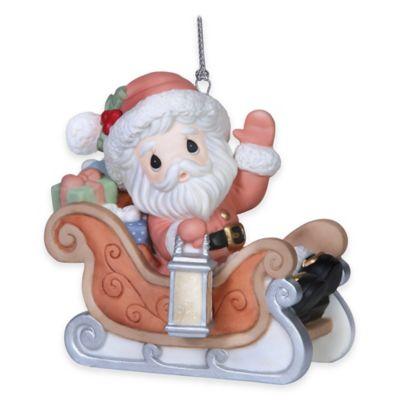 Precious Moments® Santa's on His Way Ornament