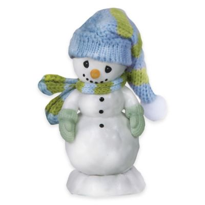Precious Moments® All Bundled Up for the Holidays Snowman Figurine