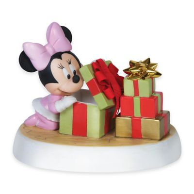 Precious Moments® Disney® Showcase Holiday Surprise Baby Minnie Figurine