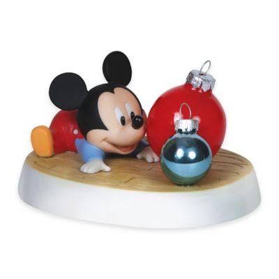 Precious Moments® Disney® Showcase Holiday Reflections Baby Mickey Figurine