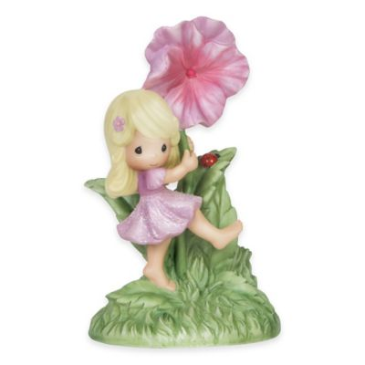 Precious Moments® You are My Happiness Girl with Hibiscus Flower Figurine