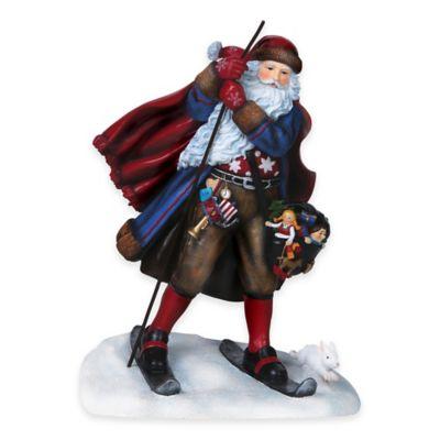 Pipka 11-Inch Norwegian Santa Figurine