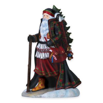Pipka 11-Inch Hungarian Santa Figurine