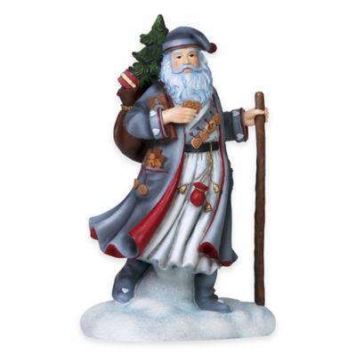 Pipka 11-Inch German Santa Figurine