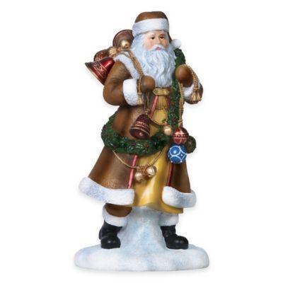 """Pipka 11-Inch """"The Bell Ringer"""" Santa Figurine"""