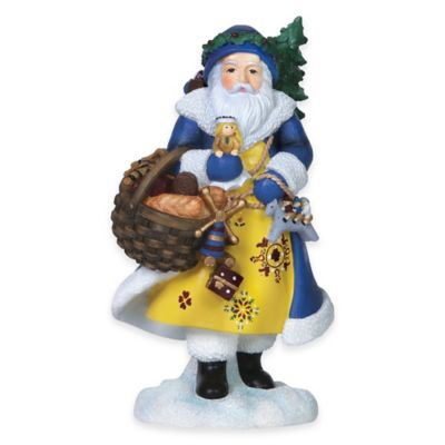 Pipka 6.5-Inch Swedish Santa's Christmas Bread Figurine