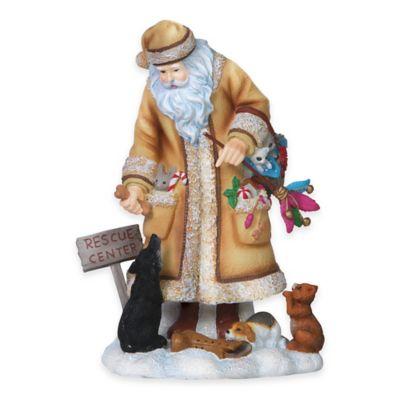 Pipka 6.5-Inch Rescue Santa Figurine