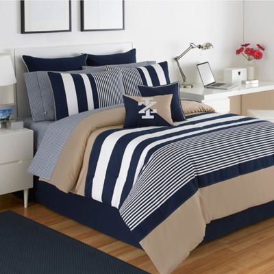 Izod® Classic Stripe Full Comforter Set