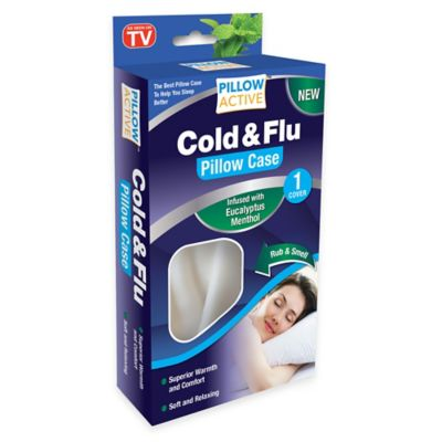 Pillow Active™ Cold & Flu Standard Pillowcase with Eucalyptus and Menthol