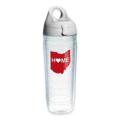 Tervis® Home Heart Ohio 24 oz. Water Bottle with Lid