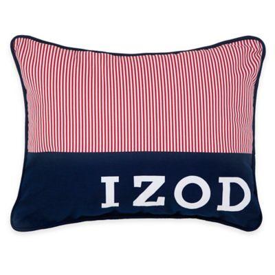 Izod® Varsity Stripe Pinstripe Oblong Throw Pillow