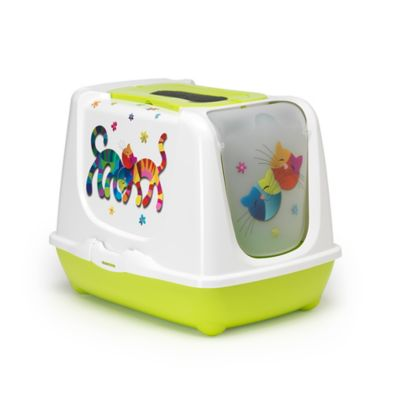 Moderna Friends Forever Enclosed Litter Box