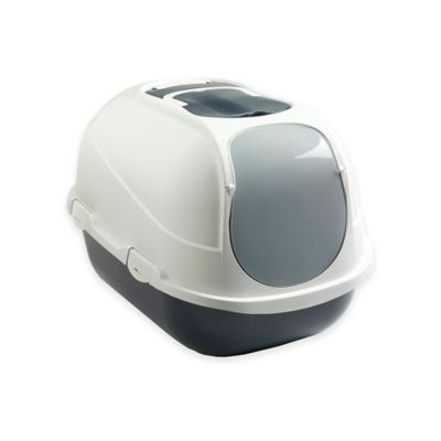 Mega Comfy Enclosed Litter Box