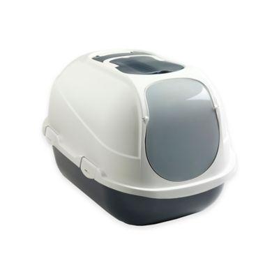 Mega Comfy Enclosed Litter Box