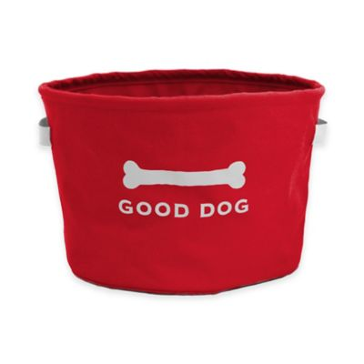 Eco Good Dog Toy Bin in Red
