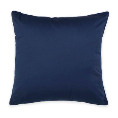 Blue European Square Pillow