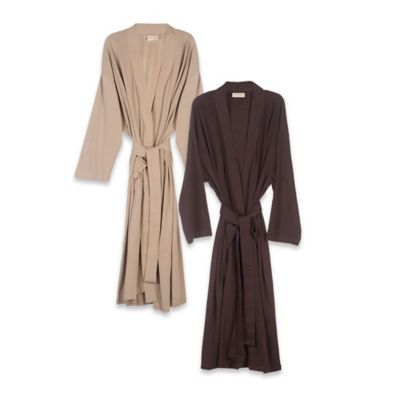 Organic Cotton Robe in Sand