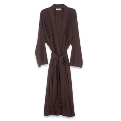 Organic Cotton Robe in Chocolate