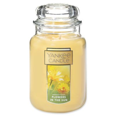 Sun Large Jar Candle