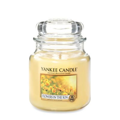 Yankee Candle® Flowers in the Sun Medium Jar Candle