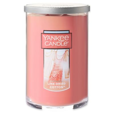 Yankee Candle® Line-Dried Cotton 2-Wick Large Candle Tumbler