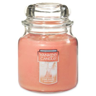 Yankee Candle® Line-Dried Cotton Medium Jar Candle