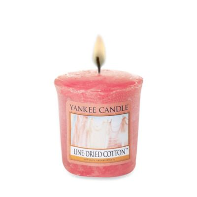 Yankee Candle® Line-Dried Cotton Samplers® Votive Candle