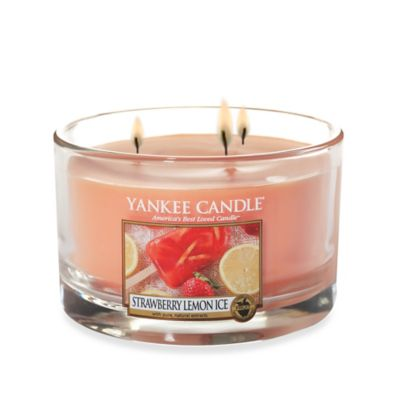 Yankee Candle® Strawberry Lemon Ice 3-Wick Candle