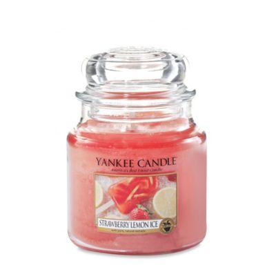 Yankee Candle® Strawberry Lemon Ice Medium Jar Candle