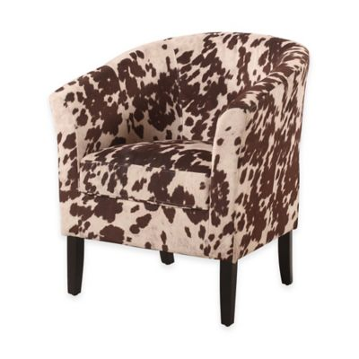 Dark Brown Club Chair