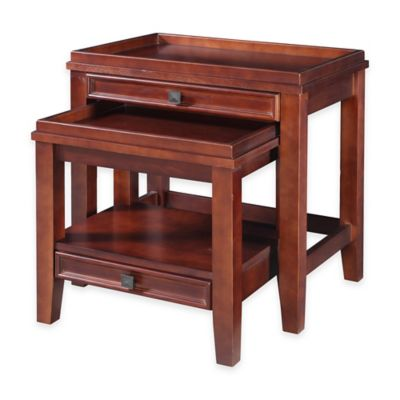 Wander Nesting Tables in Cherry