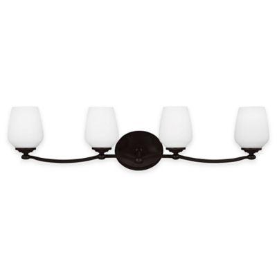 Feiss® Vintner 4-Light Vanity Fixture in Heritage Bronze