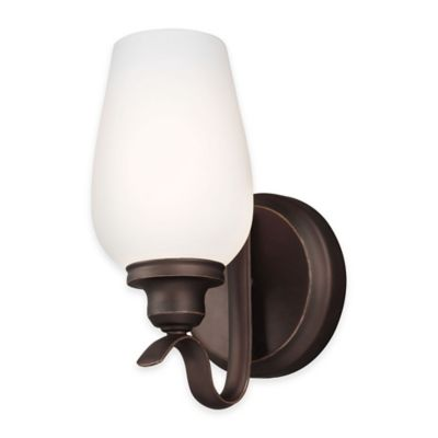 Feiss® Standish 1-Light Wall Sconce in Oil-Rubbed Bronze