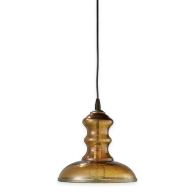 Jamie Young St. Croix 1-Light Pendant Lamp in Amber
