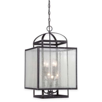 Minka Lavery® Camden Square 8-Light Pendant in Charcoal