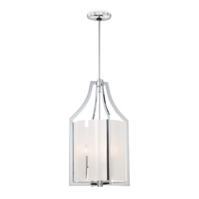 Minka Lavery® Clarte 3-Light Pendant in Chrome
