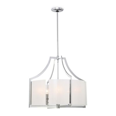 Minka Lavery® Clarte 6-Light Pendant in Chrome