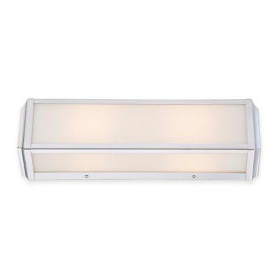 Minka Lavery® Daventry 2-Light Rectangular Bath Vanity in Polished Nickel
