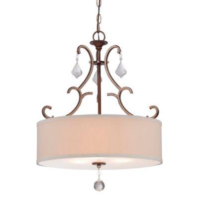 Minka Lavery® Gwendolyn 3-Light Pendant in Sienna