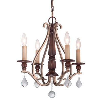 Minka Lavery® Gwendolyn 4-Light Chandelier in Sienna