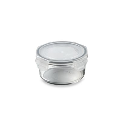 Store N' Lock Round 11.8-Ounce Storage Container