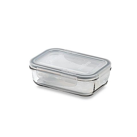 Store N' Lock Rectangular 13.5-Ounce Storage Container
